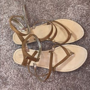 mossimo supply co strappy sandles